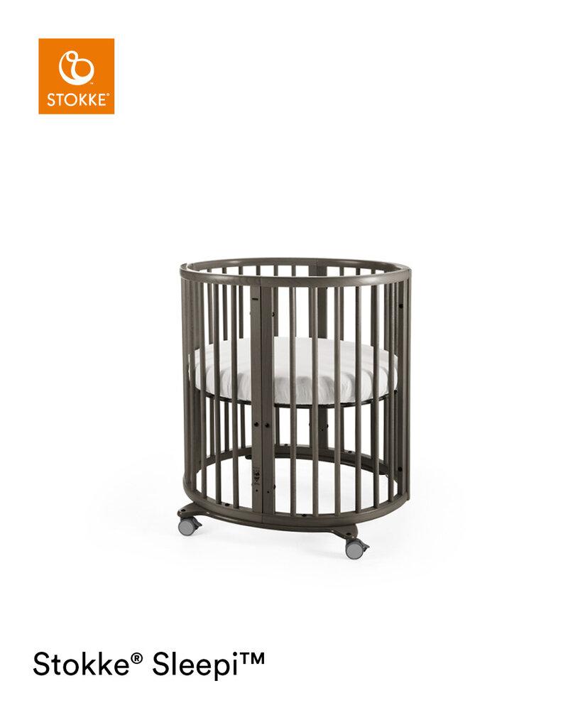 Image of Stokke® Sleepi™ Mini Seng Inkl. madras - hazy grey (8ecca999-47ca-4d62-96e9-5b1c118079ec)