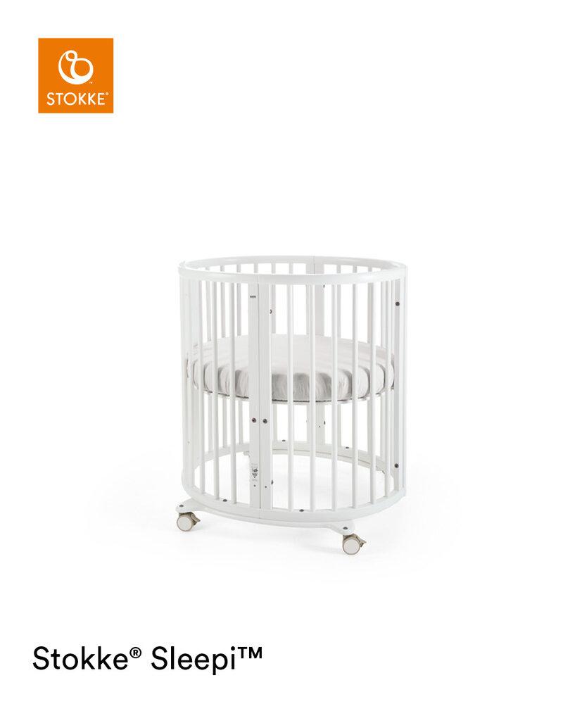 Image of Stokke® Sleepi™ Mini Seng Inkl. Bed Extention - white (478c8f32-1b35-4f76-aac8-864ef8ee143c)