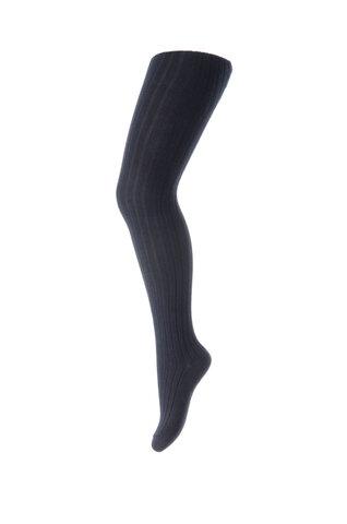 Basic rib strømpebuks - 96