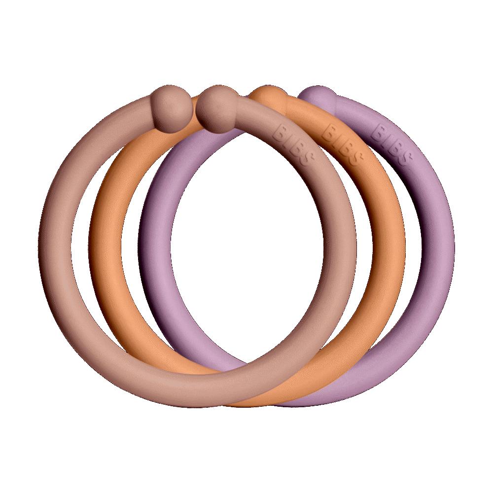 BIBS Loops 12 PACK Blush/Peach/Dusky Lilac