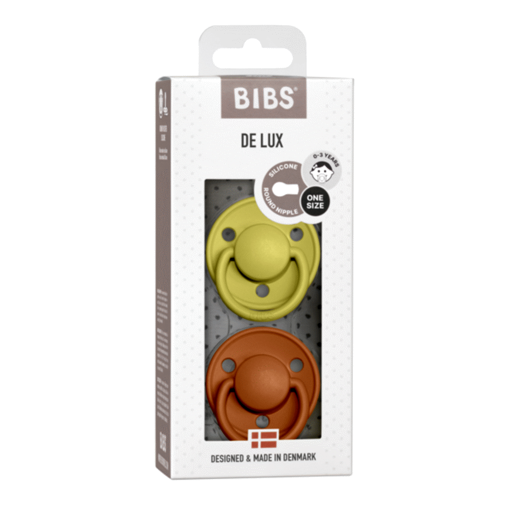 Image of BIBS De Lux 2 PACK Silicone Onesize Meadow/Earth (79c2a110-6e3c-45a2-b3b2-0754e6c702c7)