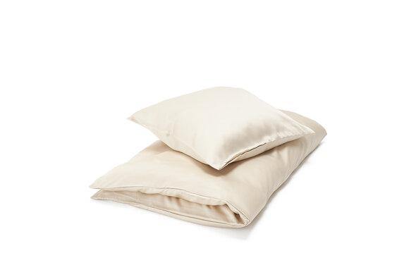 Baby bambus sengetøj - Beige