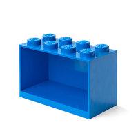 Opbevarings hylde 8 knop blå