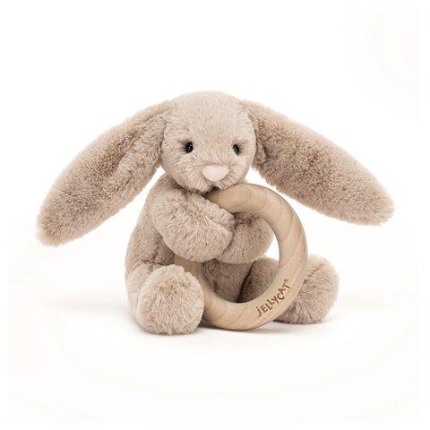 Bashful kanin Beige, m/træring