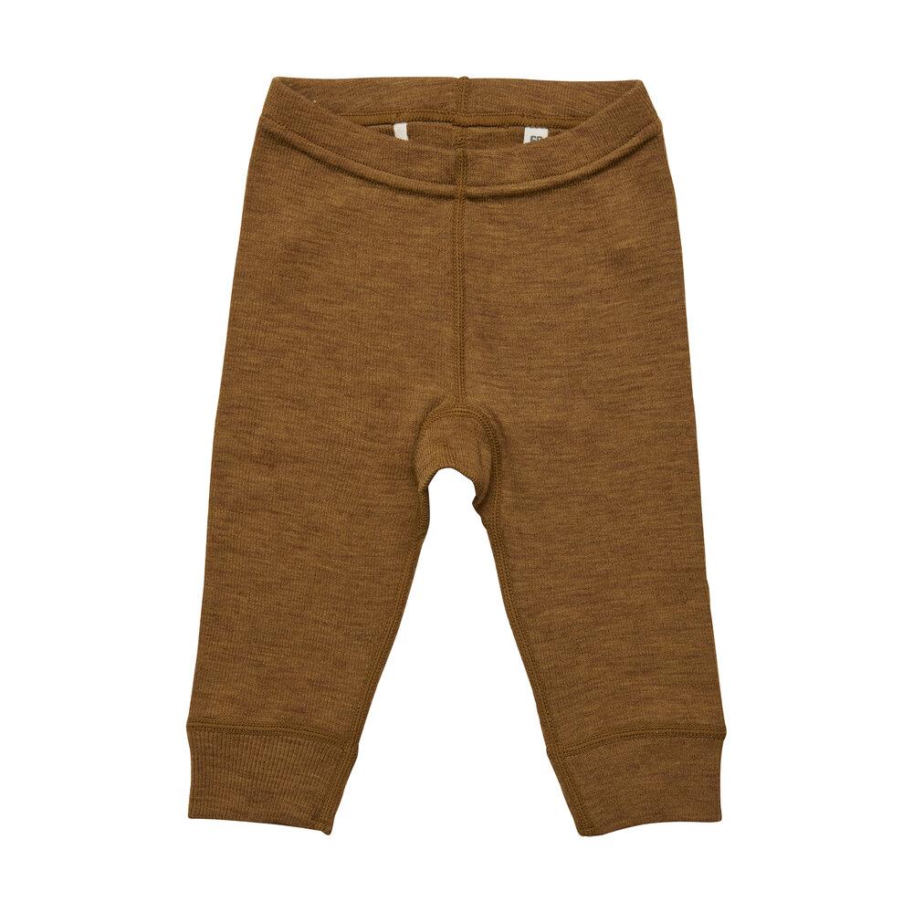 BeKids Uld leggings - solid - 2024
