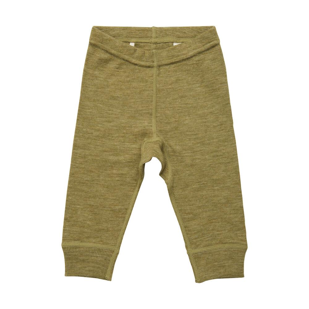 BeKids Uld leggings - solid - 9636
