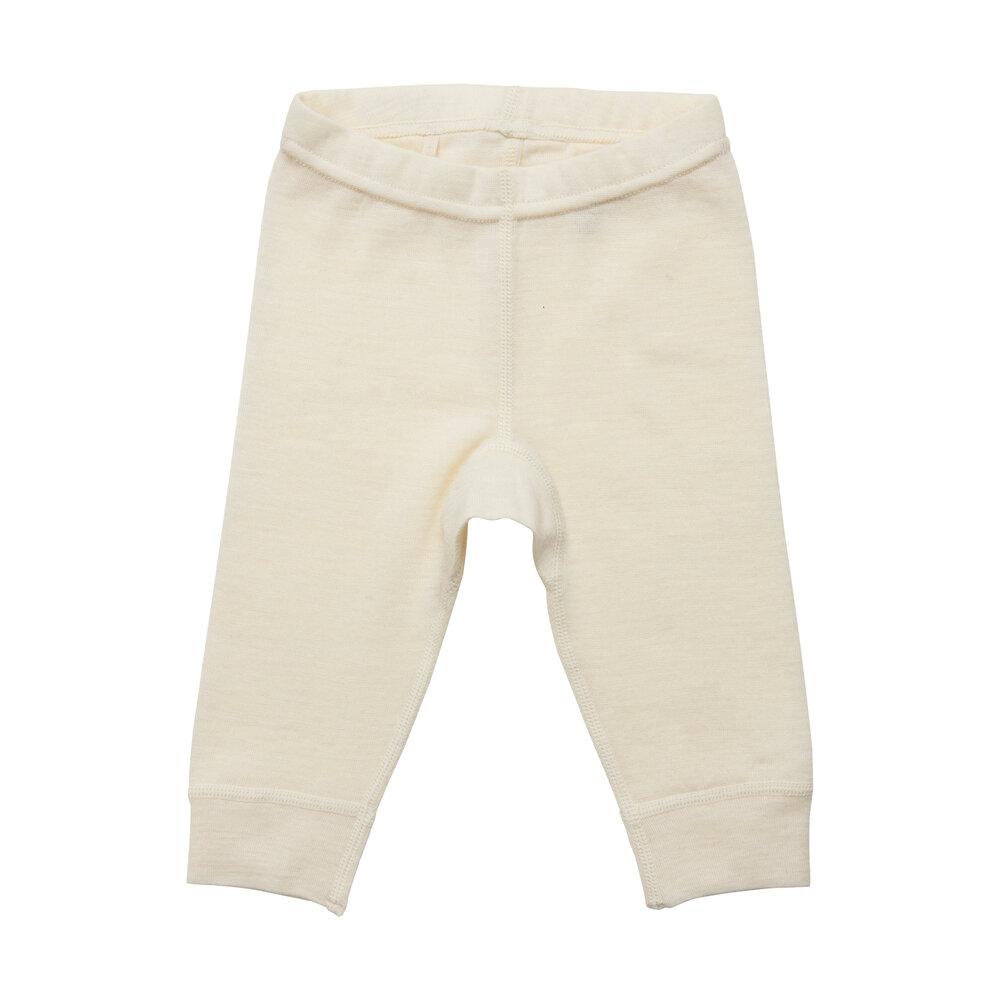 BeKids Uld leggings - solid - 1015