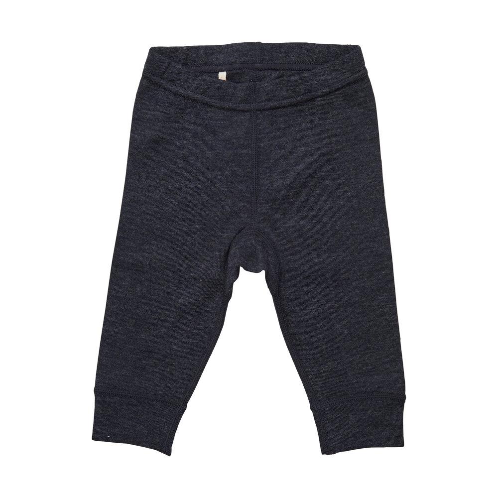 BeKids Uld leggings - solid - 7392
