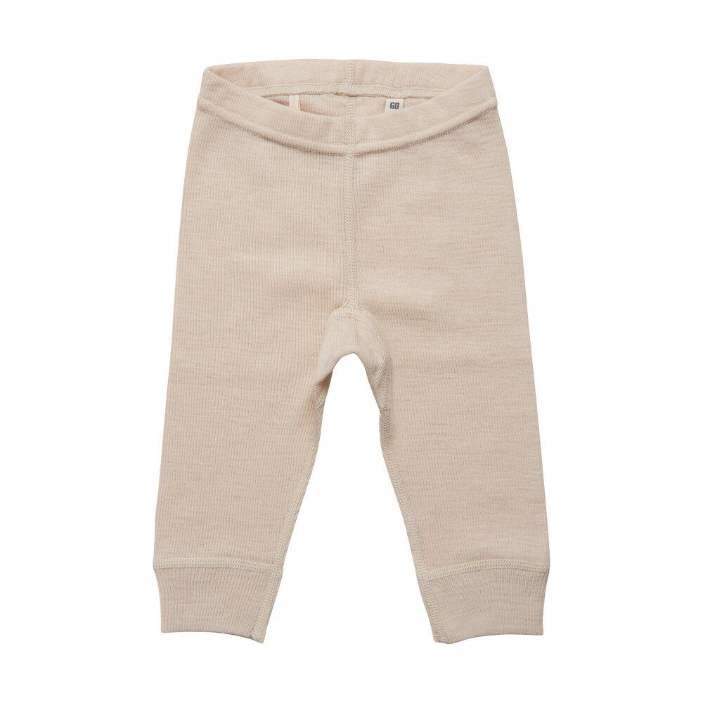 BeKids Uld leggings - solid - 2020