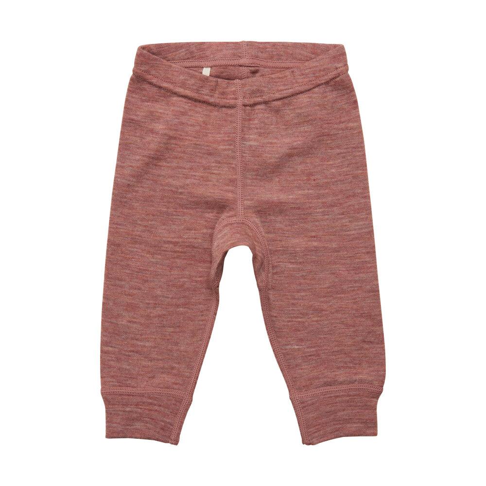 BeKids Uld leggings - solid - 2250