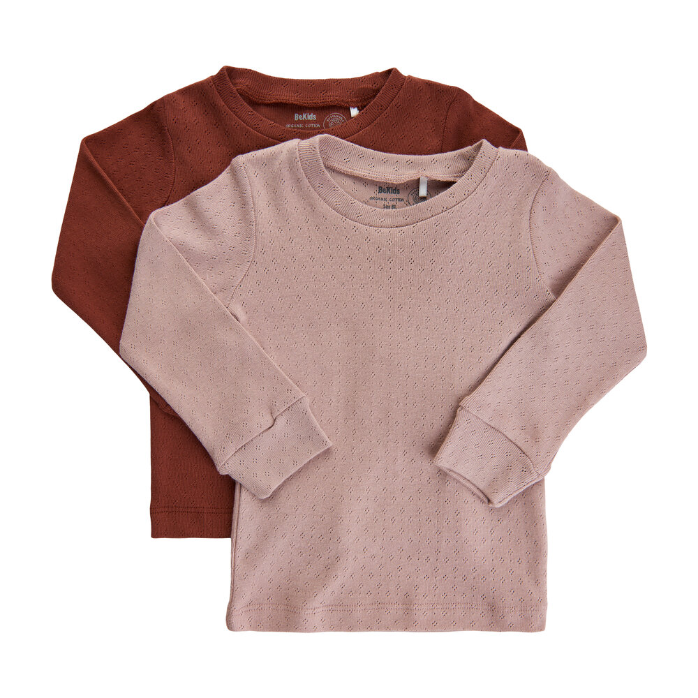 Image of BeKids 3for2 Blouse LS - (2pack) - 5707 (6a23419f-679f-414b-bde8-0a3574986f19)