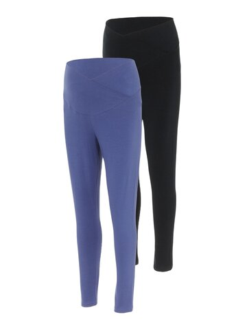 Chantelle jersey leggings 2-pak - BLACK