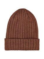 Gasanna knit hat - TORTOISE