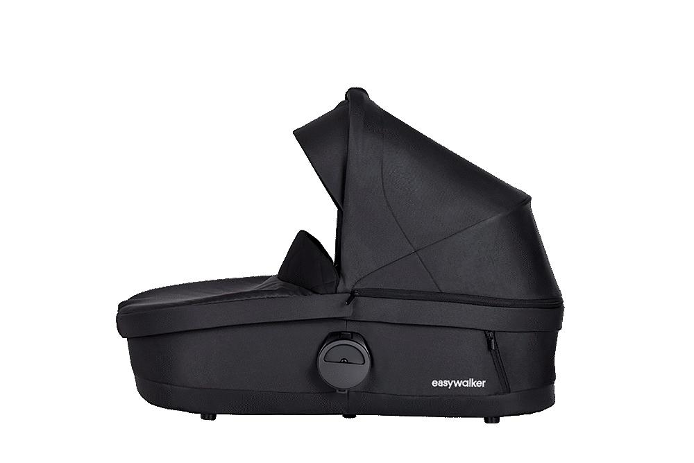 Image of EASYWALKER Harvey³ premium liggedel - jet black (548208ec-234b-4a31-9421-74b27a3c181e)
