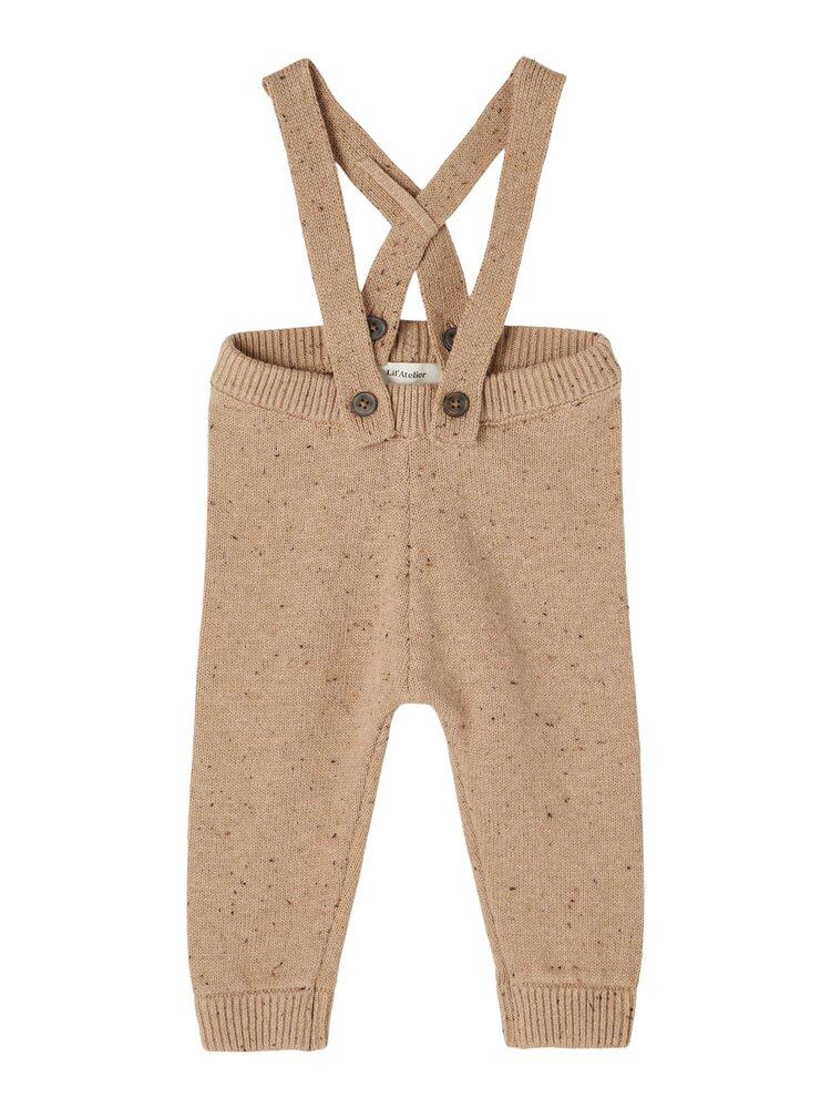 Image of Lil' Atelier Egalto knit pant - TOBACCO (63b379cb-9eaa-4a9f-949b-fe95e8f0f222)