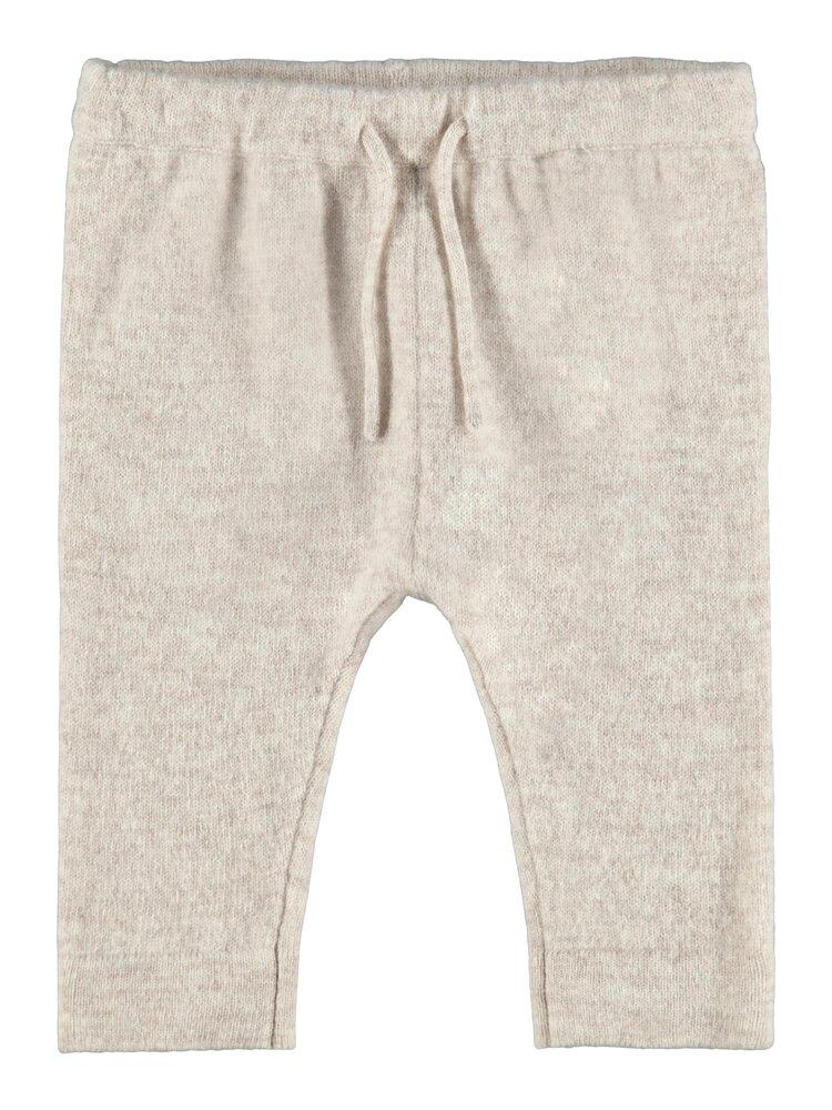 Image of Lil' Atelier Ellis knit pant - PEYOTE MEL (29b1aa02-661e-4a29-b27e-b4c017978c8b)