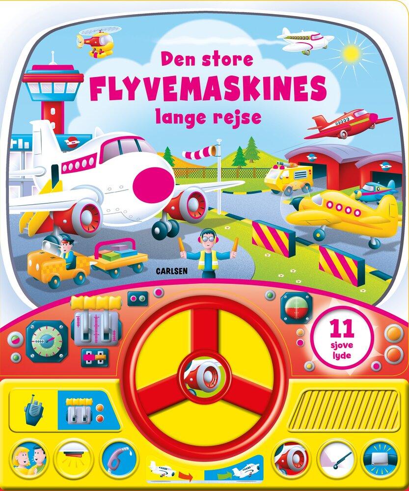 Image of Lindhardt og Ringhof Den Store Flyvemaskines Lange Rejse - Med Lyd og Rat (f70a6c29-7b45-496b-8019-09d36a4157a1)