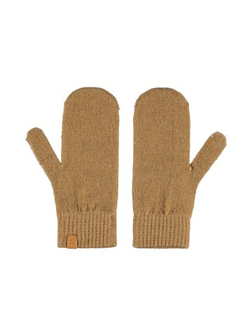 Gerson knit mitten - TOBACCO