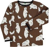 T-shirt med isbjørn - 303