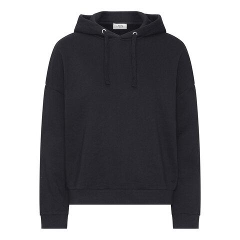 Comfort hættetrøje - BLACK