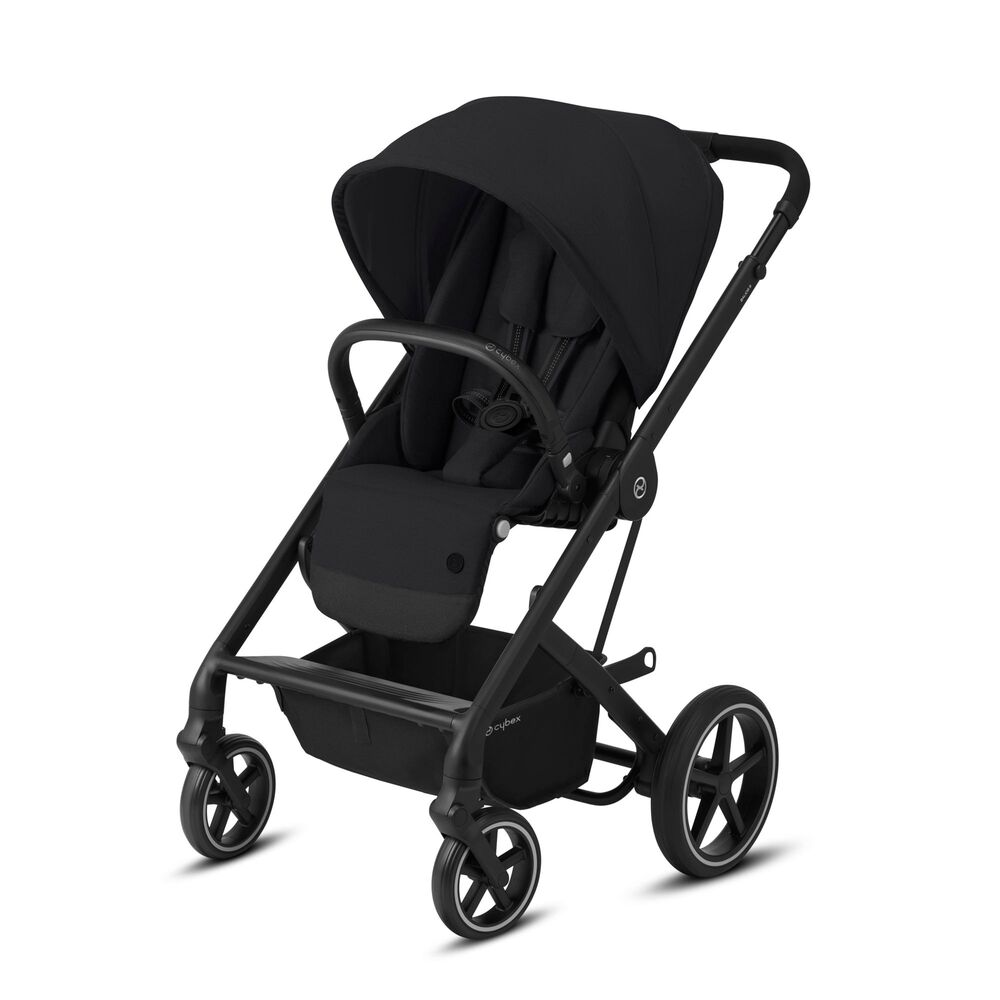 Image of Cybex Balios S Lux Klapvogn - deep black på sort stel (aeeb1cce-bae5-4d68-bff4-be1fb55a8be3)