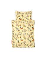 Dukke sengetøj, multi blomst