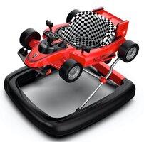 2-i-1 Gåstol F1 Racer - Rød