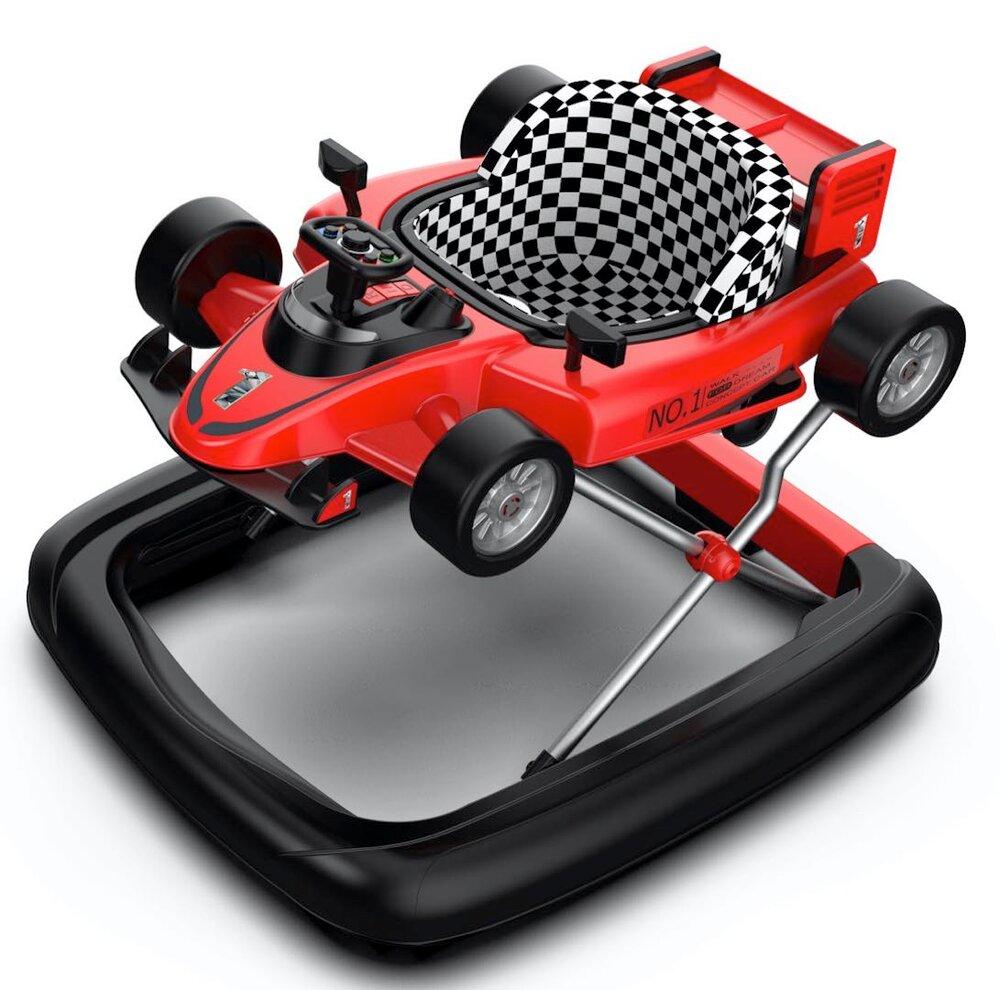 Image of TRYCO 2-i-1 Gåstol F1 Racer - Rød (4884ef83-27d1-4103-8eff-8af9ec702a50)