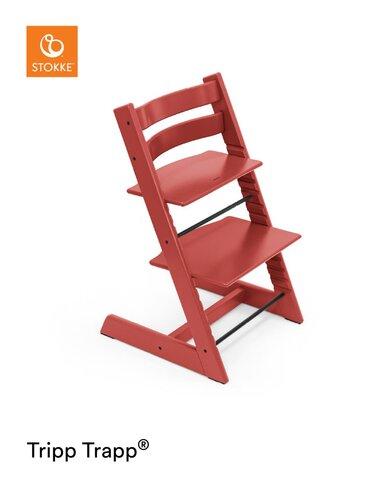 Højstol - warm red