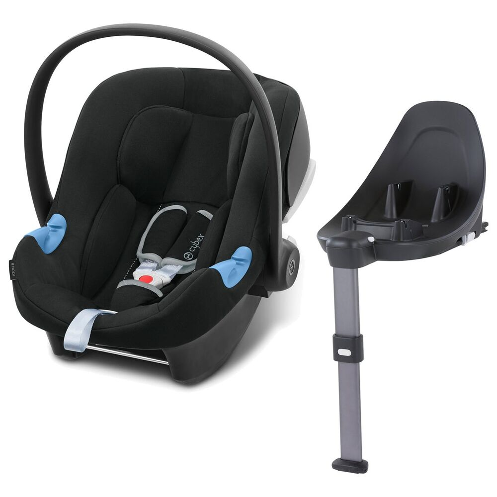 Image of Cybex Aton B i-Size inkl. Base M - volcano black (cd2afcf1-0be0-4d4f-a56c-a2ab7ea37aa4)