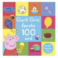 Gurli Gris første 100 ord - En løft flapperne-bog