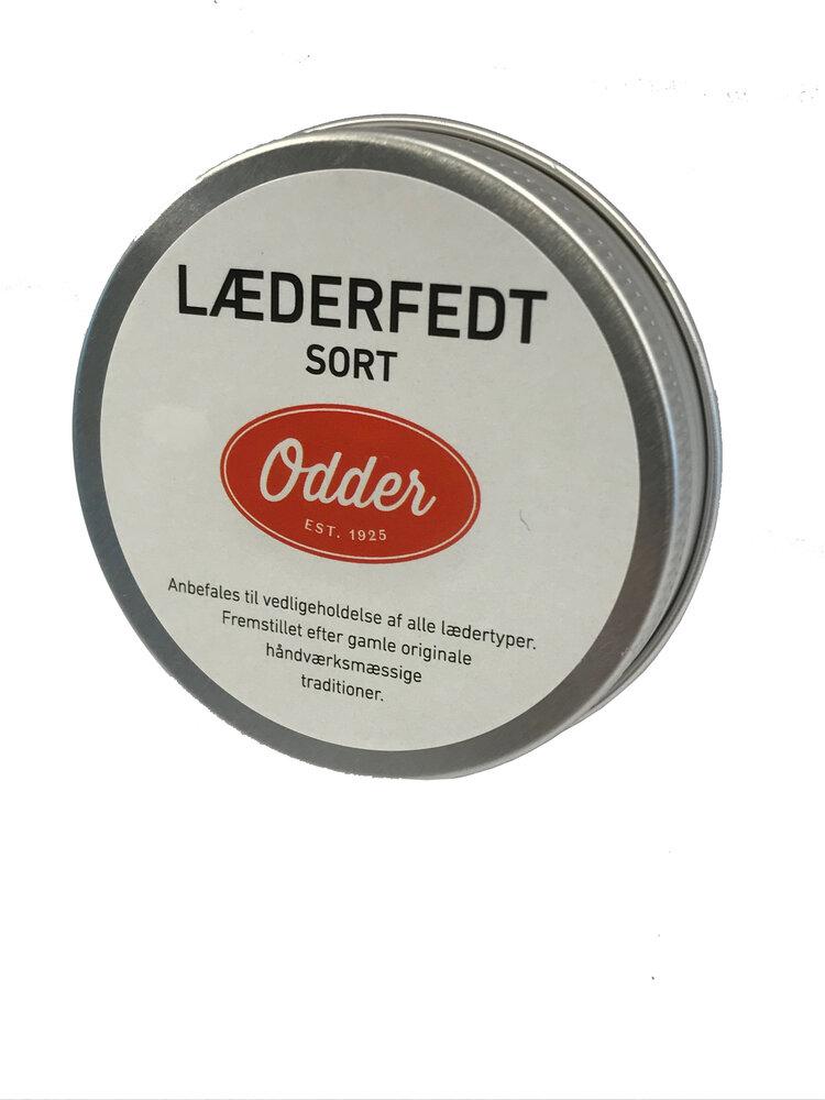 Image of Odder Læderfedt sort (09512561-2816-4f6e-9525-3c190fb21644)