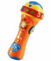 Syng med mikrofon