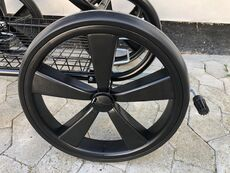 Scandia Solo hjul - sort