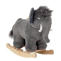 Gyngehest mammut, grå