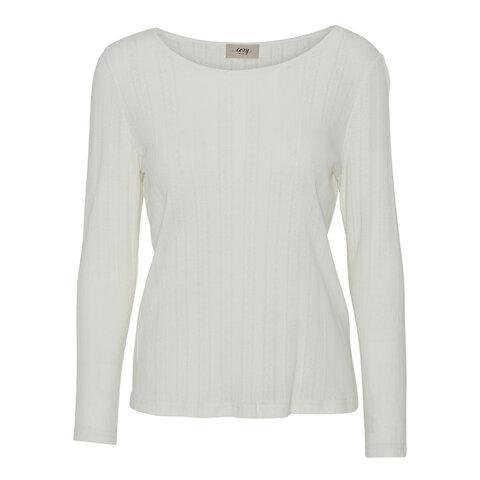 Soft touch langærmet t-shirt - SOFT CLOUD