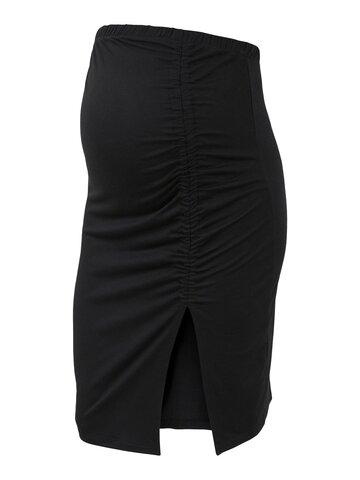 Freda jersey nederdel - BLACK