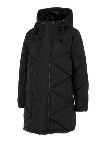 Charlot 3in1 vatteret frakke - BLACK