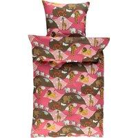 Baby sengetøj Zoo - sea pink