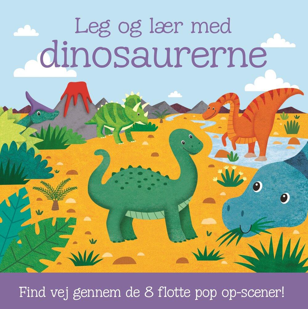 Image of Lindhardt og Ringhof Leg og lær med dinosaurerne pop-up (0c290f04-f6ec-42cd-adb6-c811eb8a7f2c)