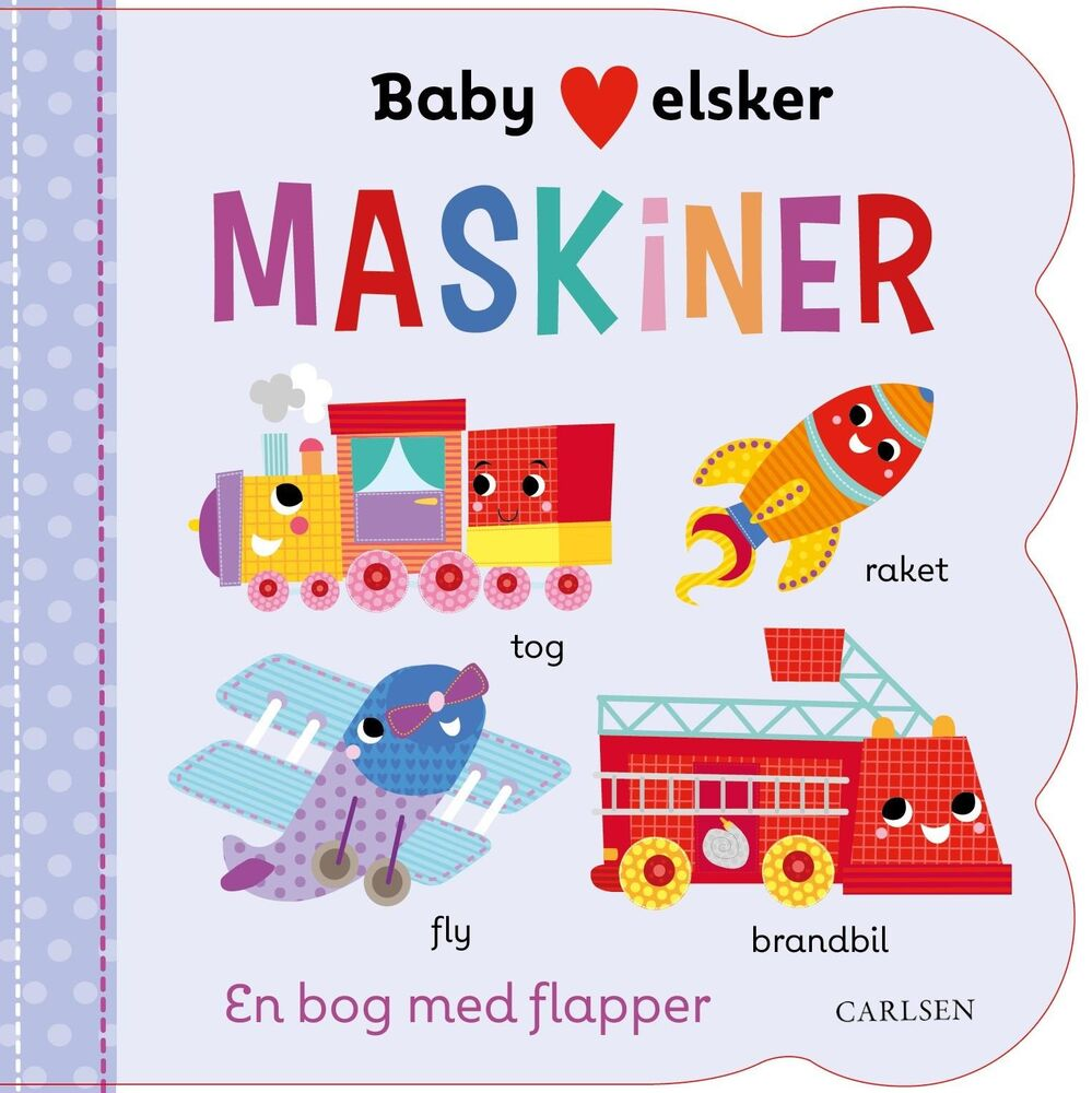 Image of Lindhardt og Ringhof Baby elsker MASKINER (0ed4c705-f667-40e5-8d0c-c353865a1fdd)
