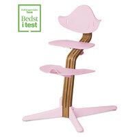 Højstol - pink pale m. premium eg