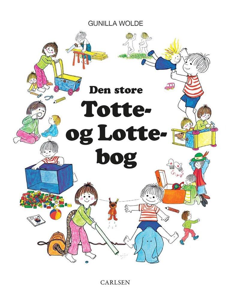 Image of Lindhardt og Ringhof Den store Totte og Lotte-bog (94ac70f5-7c00-45df-981e-b78f86f0b761)