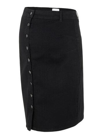 Ash denim abk skirt - BLACK DENIM