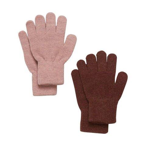 Magic glitter handsker 2-pak - 454