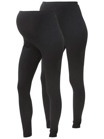 Lea leggings 2pak - BLK/BLK